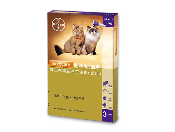 吡虫啉莫昔克丁滴剂(猫用4kg~8kg)